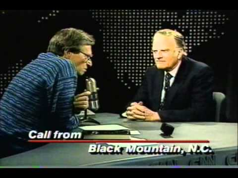 Billy Graham and Larry King January 1988