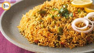 Vegetable Tawa Pulao Recipe By Food Fusion