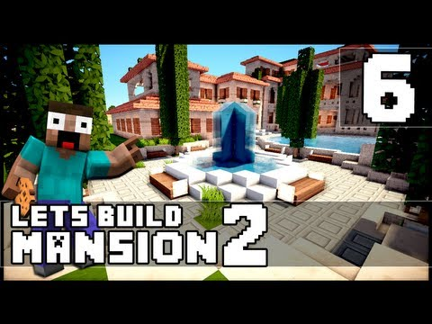 Minecraft: How To Make a Mansion - Part 6