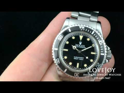 Vintage 5513 Rolex Watch