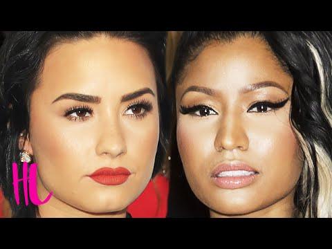Nicki Minaj & Demi Lovato Shade Each Other After Met Gala