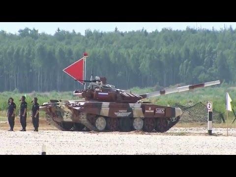 LIVE: World Championship Tank Biathlon 2015 finals