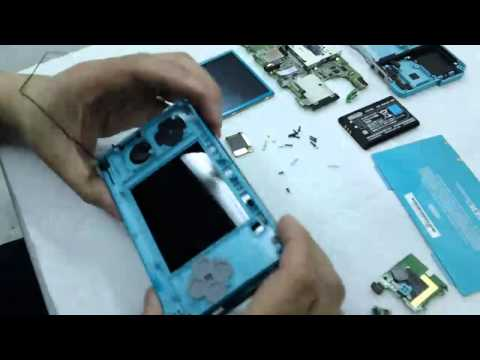 How to open Nintendo 3DS - HD (TAKE APART & DISASSEMBLE)