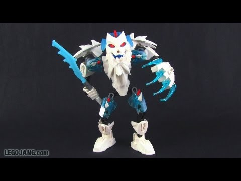 LEGO Hero Factory Frost Beast review! Brain Attack wave 2