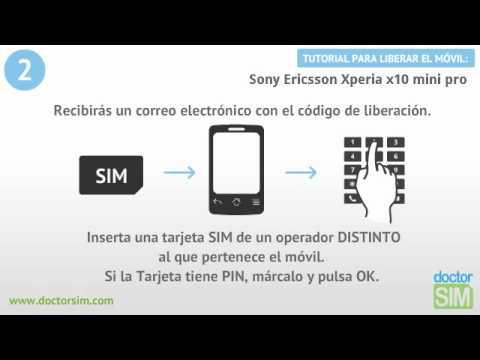 Liberar Sony Ericsson Xperia X10 Mini Pro. Desbloquear Sony Ericsson Xperia X10 Mini Pro