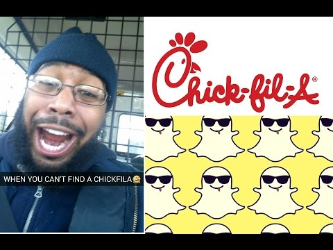 WHEN YOU CANT FIND A CHICKFILA SNAPCHAT (@SCOOP208)