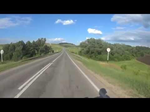 Поездка Самара-Отрадный на CBR600RR07 с HDR AS100V.