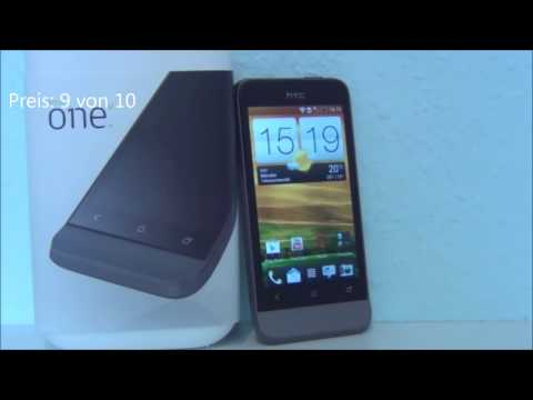 HTC ONE V review and unboxing 2016