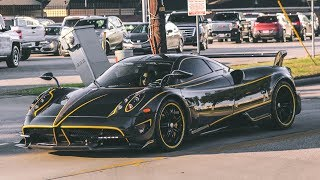 The Hennessey Venom F5 SHUT DOWN THE SHOW! Houston Coffee and Cars January 2018