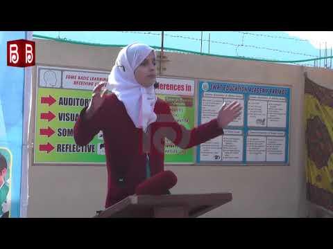 سوات ایجوکیشن اکیڈمی کی ہونہار طالبہ کا تعلیم کے حوالے سے زبر دست تقریر