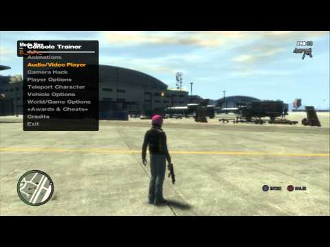 GTA IV   The Pink House MOD MENU 2.0 on PS3/XBOX360