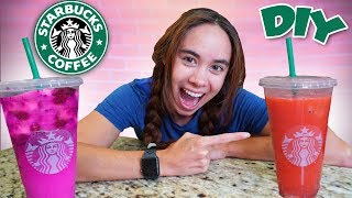Trying To DIY Starbuck's Dragon Drink!