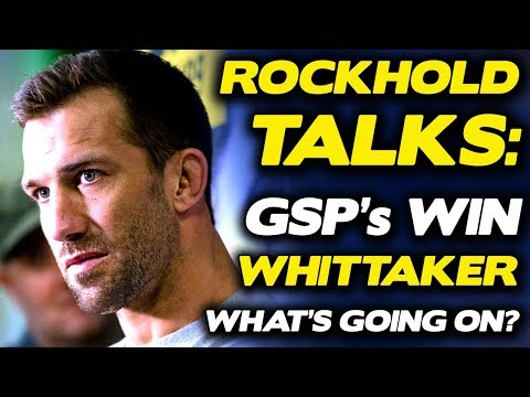 "Luke Rockhold: GSP is ""Backtracking"", Looking for ""Way Out"" of Whittaker Fight, Talks UFC 221 Offer"