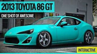 GTA 5 - 2013 Toyota 86 GT Car Mod - O.S.O.A Interactive