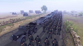 1944 German Counterattack, Battle of Caen | Men of War: Assault Squad 2 Gameplay