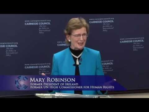 Mary Robinson: Climate Change & the United Nations