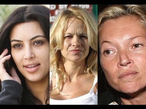 CELEBRITIES WITHOUT MAKEUP!!!!