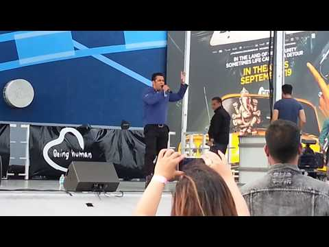 Salman Khan In Brampton Toronto Performing Dr Cabb video
