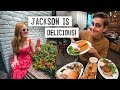 Jackson FOOD & RESTAURANT Tour! + Southern Cooking & Beer Popsicles 😍
