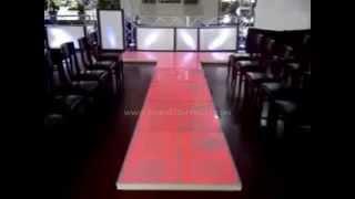 LED Illuminated Runway Floor