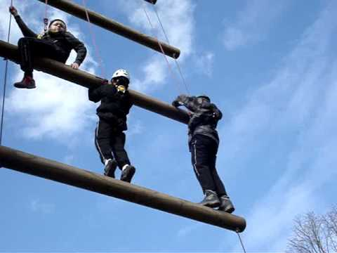 Me and my winner friend's Jacob Ladder Climb