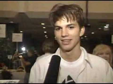 Young Ashton Kutcher Video
