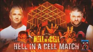 WWE Hell In A Cell 2017: Shane McMahon vs. Kevin Owens - Official Match Card