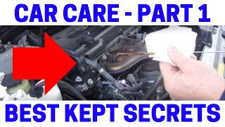 (Part 1) Learning To Be Your Own Auto Mechanic Is Not Hard