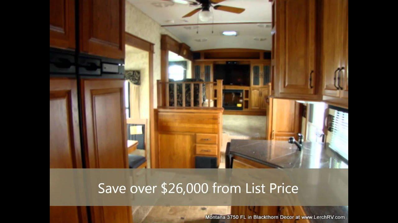 Montana 3750 fl 5th wheel camper by keystone rv lerch rv - Montana fifth wheel front living room ...