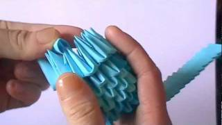 3d Origami: Stitch Part 1 Of 3