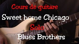 Cours de guitare - Sweet Home Chicago - Solo1