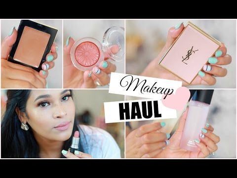 Huge High End Makeup Haul 2015 Plus Demos and Reviews Sephora, Mac, YSL  -  MissLizHeart