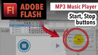 Play And Stop Buttons MP3 Music Player In Adobe Flash Action Script 3 TUTORIAL VideoMp4Mp3.Com