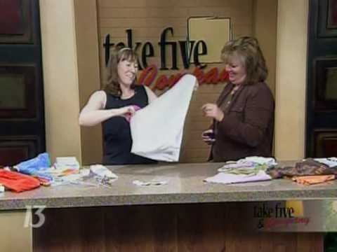 CraftSanity on TV: Refashioning T-Shirts
