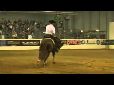 Massimiliano Ruggeri and Spat Split And White - 224 @NRHA Italian Derby 2012 - Champion