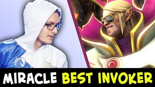 Reason he is BEST INVOKER — Miracle super fast fingers