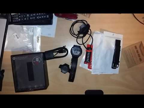 Xiaomi Huami AMAZFIT Pace Quick Review+Watchband Wristband(Gearbest)