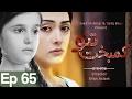 Kambakht Tanno - Episode 65 | Aplus - Best Pakistani Dramas