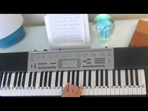 How to Play ~ Can't Hold Us ~ Macklemore & Ryan Lewis - ft. Ray Dalton ~ LetterNotePlayer ©