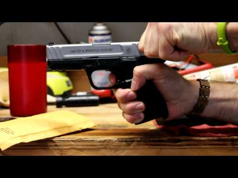 Apex Tactical - S&W SD9VE Trigger Movement