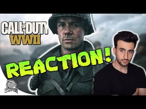 CALL OF DUTY WW2 REACTION! - Official Trailer