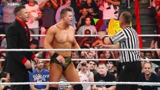 Raw: John Cena vs. The Miz - WWE Championship Match