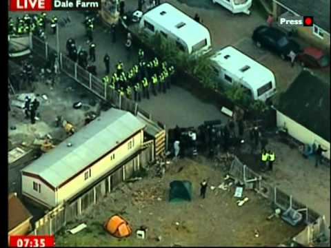 DALE FARM EVICTION AND POLICE BRUTALITY