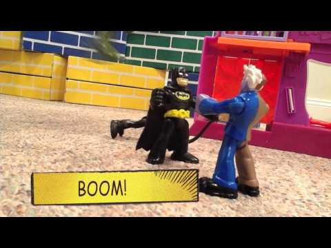 Batman and Robin Imaginext Movie