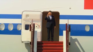 Xi Jinping arrives in Nay Pyi Taw for state visit to Myanmar