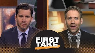 First Take reacts to Warriors beating Rockets in Game 1 | First Take | ESPN