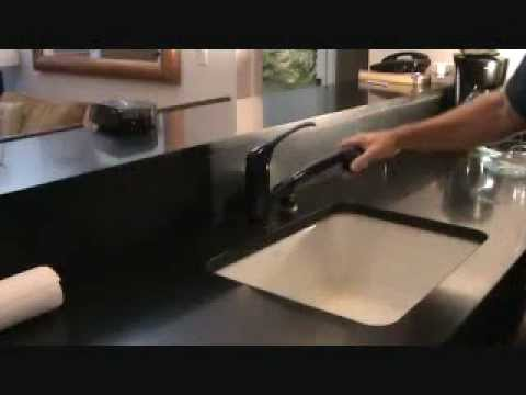 how to remove a kitchen faucet youtube