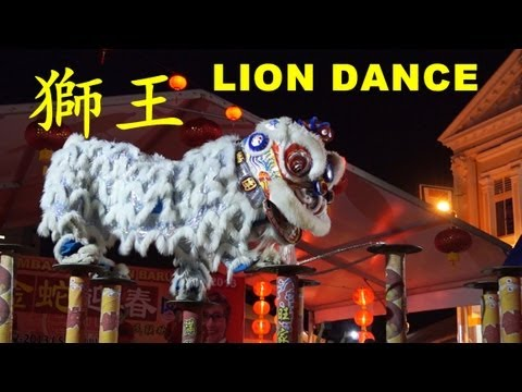 2013 LION KING KSK Kun Seng Keng high pole lion dance in Kajang CNY 2013