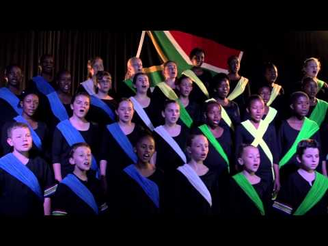 Cantare Children's Choir Sings South Africa's National Anthem video