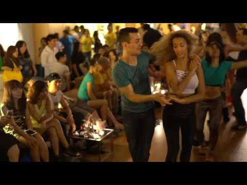 Zouk SEA 2016 Social Dances  Fernanda and Alisson ~ video by Zouk Soul